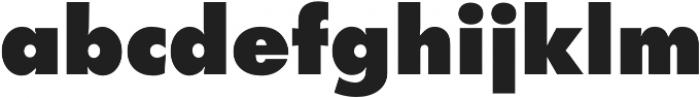 Futura Extra Bold otf (700) Font LOWERCASE