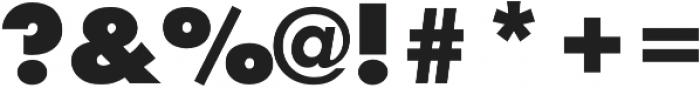 Futura Initials D Extra Bold otf (700) Font OTHER CHARS