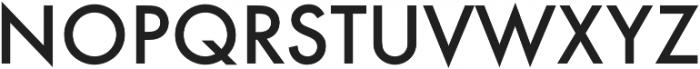 Futura Medium otf (500) Font UPPERCASE