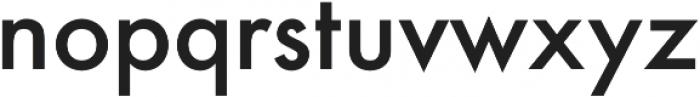 Futura Medium otf (500) Font LOWERCASE