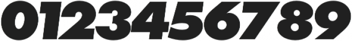 Futura P Extra Bold Oblique otf (700) Font OTHER CHARS