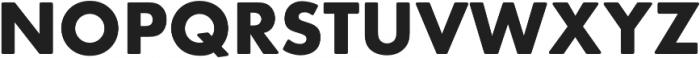 Futura Round Bold otf (700) Font UPPERCASE