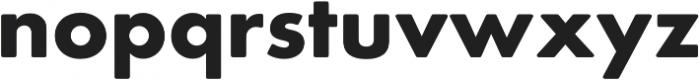 Futura Round Bold otf (700) Font LOWERCASE