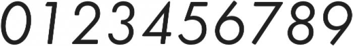 Futura Round Book Oblique otf (400) Font OTHER CHARS
