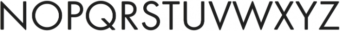 Futura Round ttf (100) Font UPPERCASE