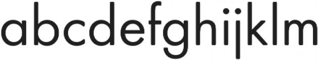 Futura Round ttf (100) Font LOWERCASE