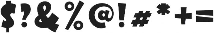 Futurino otf (400) Font OTHER CHARS
