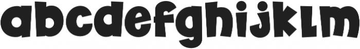 Futurino otf (400) Font LOWERCASE