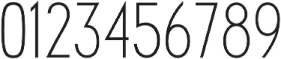 Futuriste Light otf (300) Font OTHER CHARS