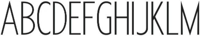 Futuriste Light otf (300) Font UPPERCASE