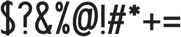 Futuriste otf (700) Font OTHER CHARS