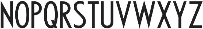 Futuriste otf (700) Font UPPERCASE