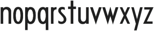 Futuriste otf (700) Font LOWERCASE