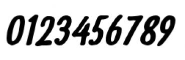 Futuramano Condensed Bold Italic Font OTHER CHARS