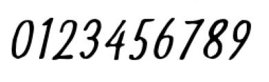 Futuramano Condensed Light Italic Font OTHER CHARS