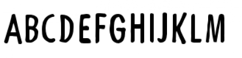 Futuramano Condensed Plain Font UPPERCASE