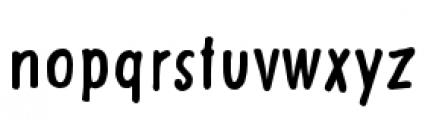 Futuramano Condensed Plain Font LOWERCASE