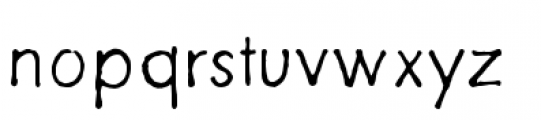 Futuramano Thin Font LOWERCASE