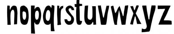 Funisima Font LOWERCASE