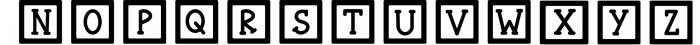 Funny blocks font for building blocks party Font UPPERCASE