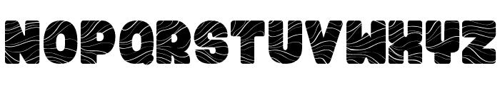FUGU & MAKI Font UPPERCASE