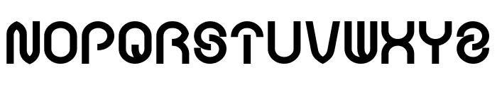 FUNRECORD Bold Font UPPERCASE