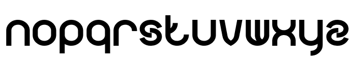 FUNRECORD Bold Font LOWERCASE