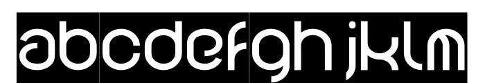 FUNRECORD-Inverse Font LOWERCASE