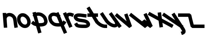 FUNTASTIC MILLION MOMENT Font LOWERCASE