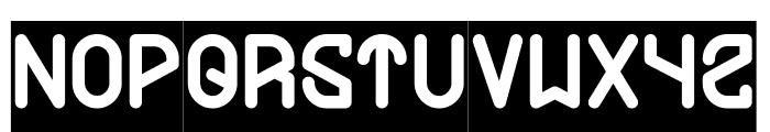 FUTURE-Inverse Font UPPERCASE