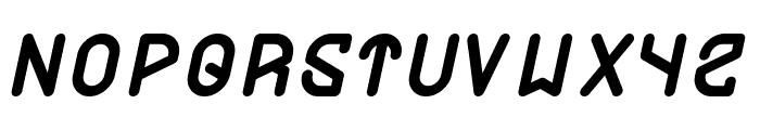 FUTURE Italic Font UPPERCASE