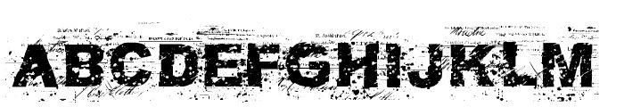 FuckAutority Regular Font UPPERCASE