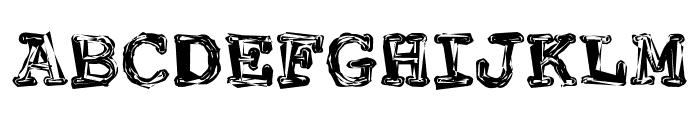 FuckinGwenhwyfar Font UPPERCASE
