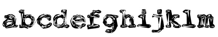 FuckinGwenhwyfar Font LOWERCASE