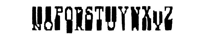 Fucsimile Font UPPERCASE