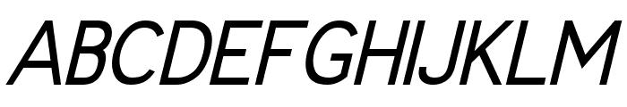 Fudd Italic Font UPPERCASE