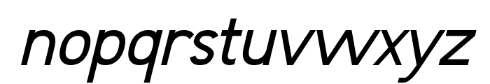 Fudd Italic Font LOWERCASE