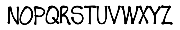 Fudgie Font UPPERCASE