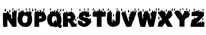 Fuego Fatuo Font UPPERCASE