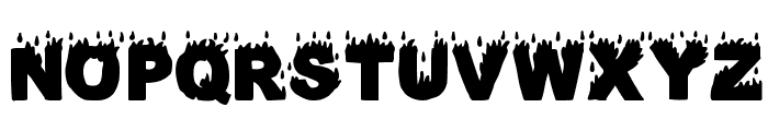 Fuego Fatuo Font LOWERCASE
