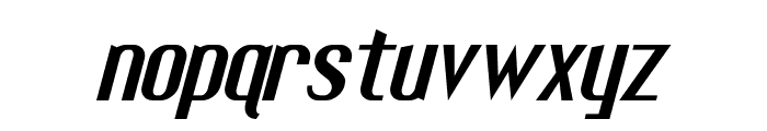 Fuel Italic Font LOWERCASE