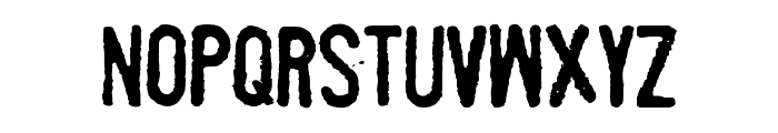 Fueled by Schlitz Font LOWERCASE