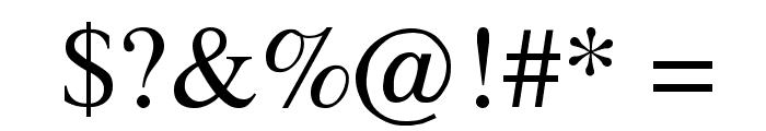 Fugit Font OTHER CHARS