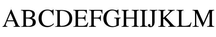 Fugit Font UPPERCASE