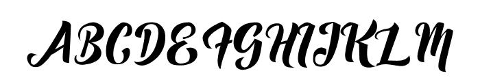 Fuister Font UPPERCASE