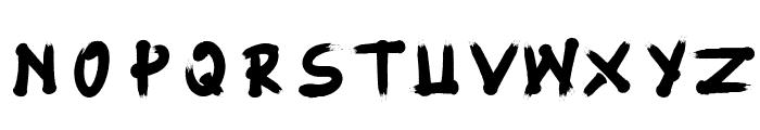 Fujimaru Regular Font UPPERCASE