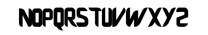 Fujiwara Manchester Font LOWERCASE