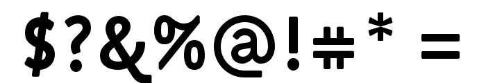 Fulbo-Premier Font OTHER CHARS