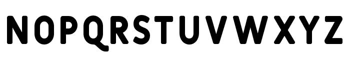 Fulbo-Retro Font LOWERCASE