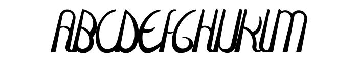 Fulgura Font UPPERCASE